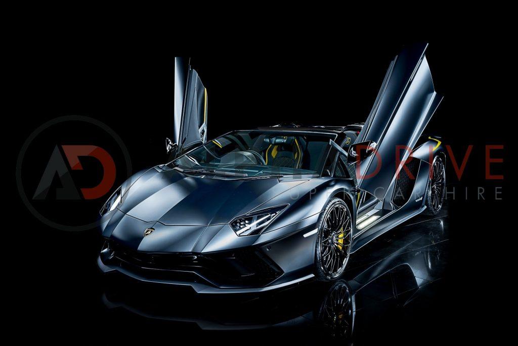 Lamborghini Aventador S Roadster Storage