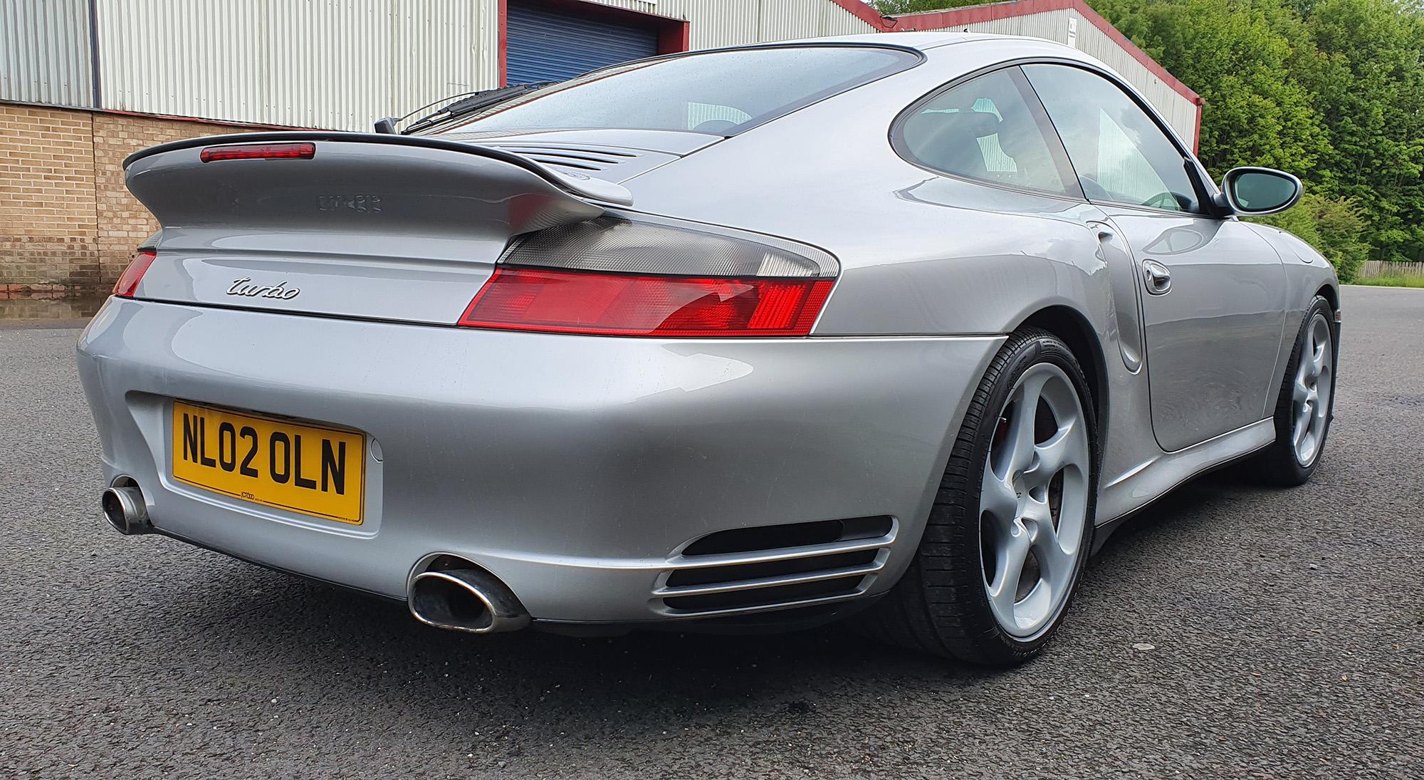 Porsche 911 996 Rear Concours Condition