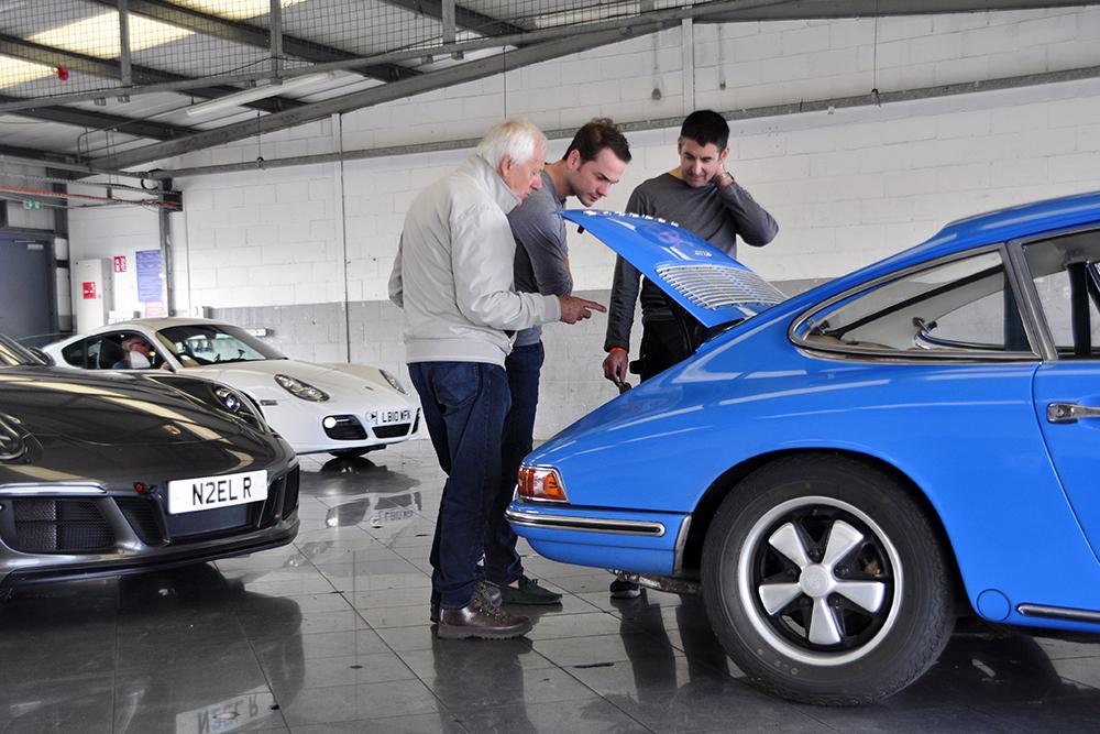 Porsche Club Technical Advice