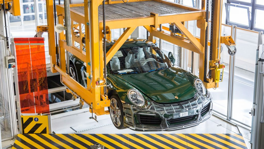 Porsche 1 million build stages (1)