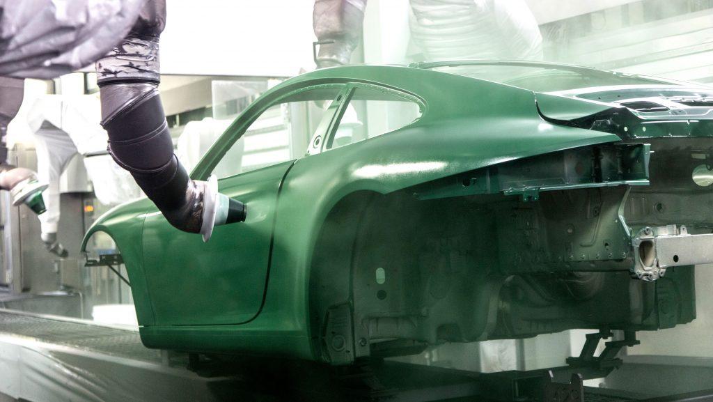 Porsche 1 million build stages (2)
