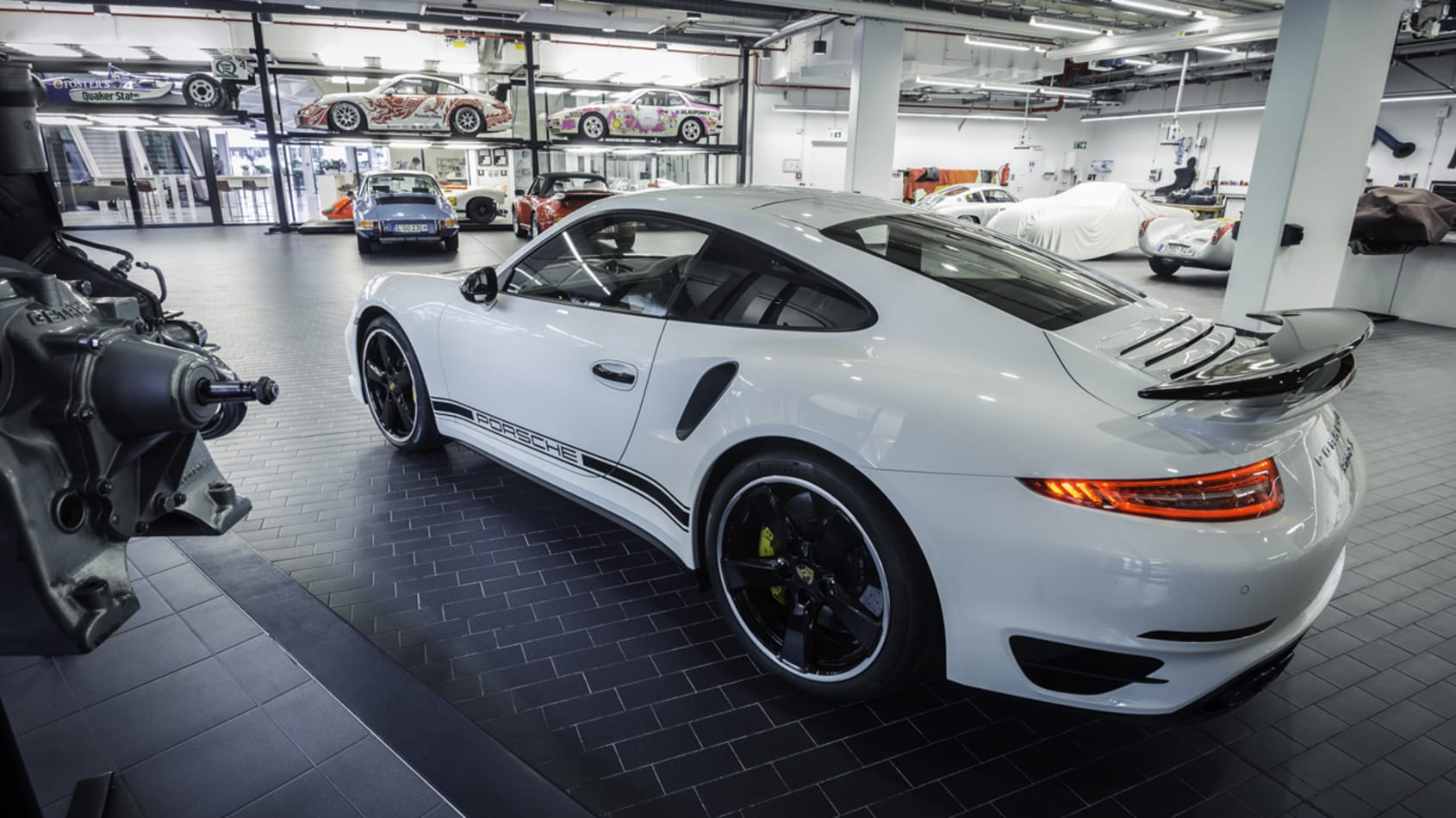 Porsche 911 991 Turbo S GB Edition