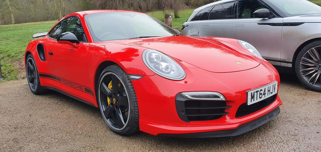 Porsche 911 Turbo S GB Edition Exclusive Guards Red