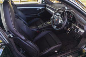 LOT NO. 415 - 2013 PORSCHE 911 CLUB COUPE interior