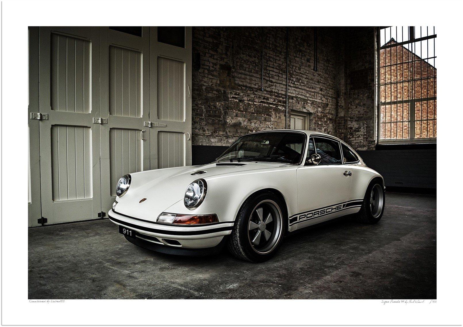 Singer Porsche 911 Wall Art