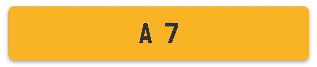 Queen Elizabeth II Reg A7