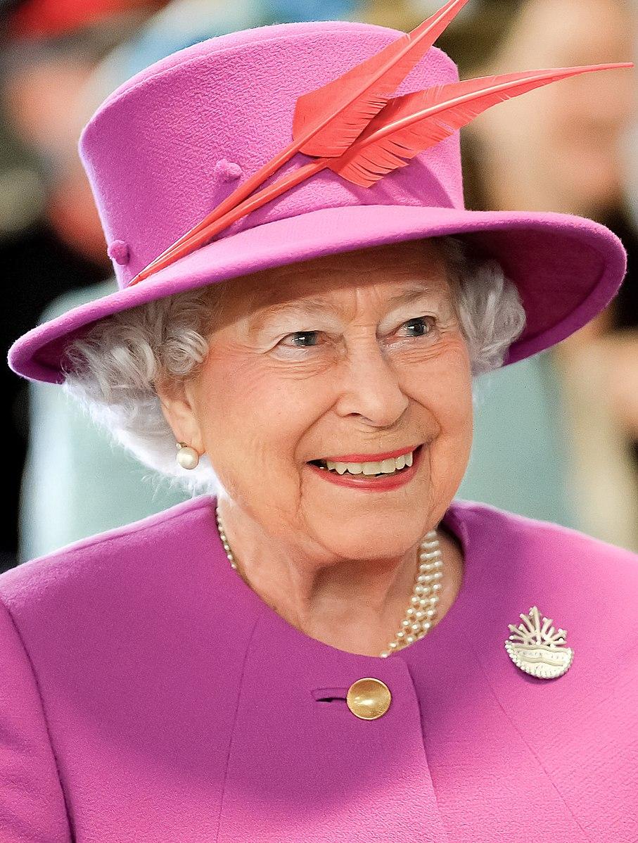Queen Elizabeth II Registration A7